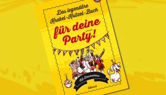 Das legendäre Krakel-Kritzel-Buch für deine Party!