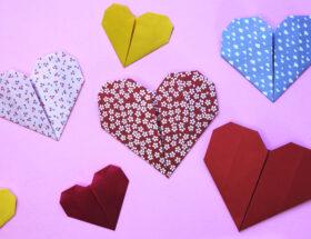 Herz aus Papier