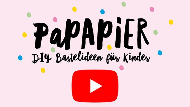 Alle Bastelfilme findest du auf meinem YouTube Channel: