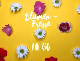 Blumenpresse to go