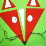Fuchs aus Dreiecken